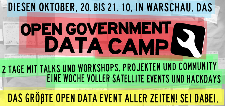 Open Government Data Camp