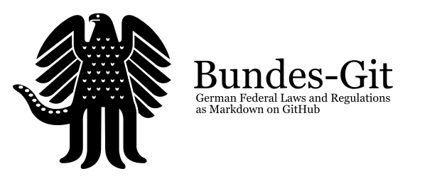 Bundes-Git – German Laws on GitHub