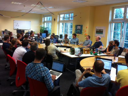 Review: 1. Open Science Arbeitsgruppentreffen im Juli 2014