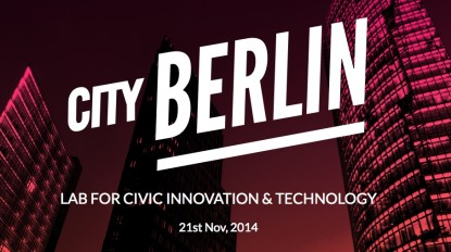 Lab for CITY (Civic Innovation and Technology) - 21. Nov. via Live Stream verfolgen