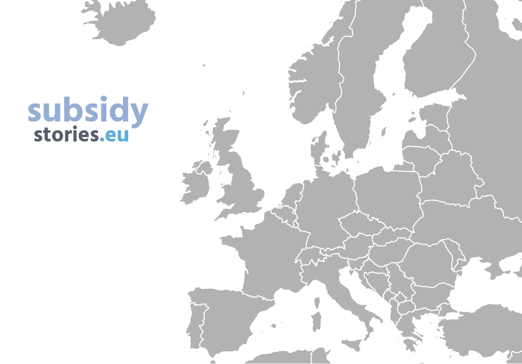 New site SubsidyStories.eu shows where nearly 300bn of EU subsidies go across Europe