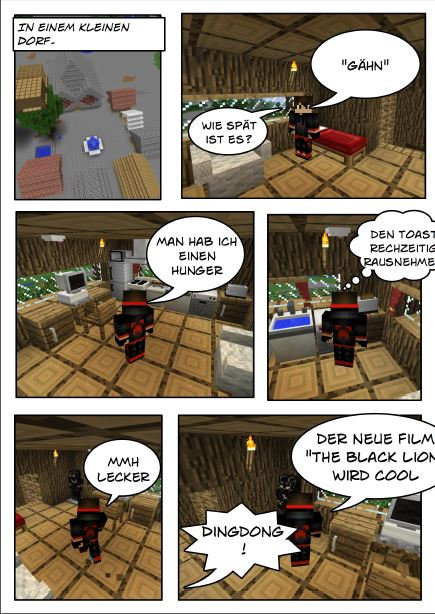 Mein Minecraft-Comic